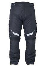 Pantalons noirs RST en cuir pour motocyclette