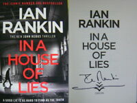 Signed Book In a House of Lies by Ian Rankin Rebus Hardback 2018