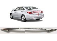 Rear Trunk Chrome Molding 2011-2014 Sonata Trunk Lid Trim Finisher OEM