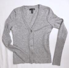 Aqua 100% Cashmere V-Neck Cardigan Sweater (Retail $198)