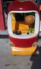 Coin Operated Kiddie Ride, Worm in the Apple