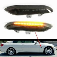 BMW M LED Black Side Marker Lights Turn Signals E82 E88 E60 E61 E90 E91 E92 E93