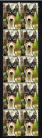 BASENJI STRIP OF 10 MINT YEAR OF THE DOG VIGNETTE STAMPS 9
