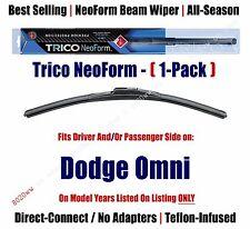 Super Premium NeoForm Wiper Blade (Qty 1) fits 1978-1990 Dodge Omni 16160