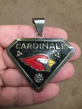 Native American Navajo Men's Pendant Phoenix Cardinals Awesome And Stunning #2