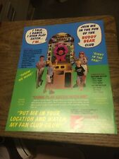 Smart BUDDY BEAR Game flyer- good original
