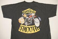 Vintage 90s Joe Camel Pocket Shirt Single Stitch Born To Be Smooth Men's Size XL