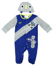 Pyjamas bleu pour garçon de 0 à 24 mois, taille 0 - 3 mois