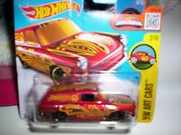 VOLKSWAGEN SQUAREBACK CUSTOM 1969 - HOT WHEELS - SCALA 1/55