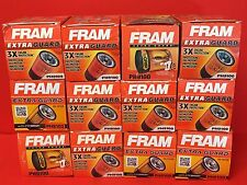 Lot of 12 Fram PH9100 Engine Oil Filter fit Silverado,Express diesel 6.6L 01/16