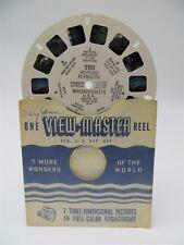 View-Master Reel 280, Historic Plymouth, Massachusetts, Single Reel