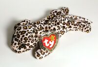 Ty Retired Beanie Babies Baby Freckles the Leopard 1996 - Errors