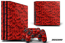 Skin Decal Wrap For PS4 PRO Playstation 4 Pro Console + Controller Stickers DIGI