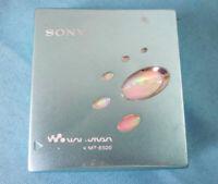 Sony MD Walkman MZ-E520 Blue Minidisc Player MDLP Working Condition F/S