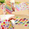 New 6x Colorful Star Love Shape Stickers For School Children Teacher Reward DIY