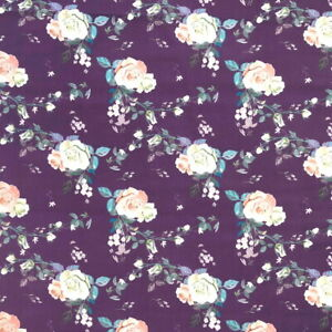 OLDE WORLD FLORAL FABRIC CRAFT/PATCHWORK NOVELTY  FABRIC 100% COTTON