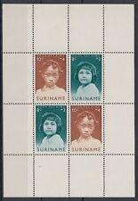 Suriname 1963 ** Bl.2 Kinder Children Girls Mädchen [sq4900]