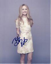 Britt Robertson Signed Autographed 8x10 Photograph