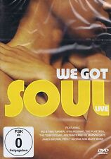 DVD NEU/OVP - We Got Soul - Live - Ike & Tina Turner, The Platters u.a.