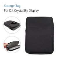 """Portable Soft Storage Bag Carrying Case Pounch for DJI 7.85"""" CrystalSky FPV Blac"""