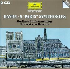 "HAYDN : 6 ""PARISER"" SYMPHONIEN - BP, KARAJAN / 2 CD-SET - TOP-ZUSTAND"