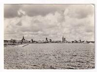 uralte AK Stralsund Blick vom Rügendamm 1966 //19