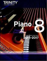 Trinity College London Piano Pieces & Exercises 2015-2017 Grade 1,2,3,4,5,6,7,8