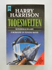 Harry Harrison Todeswelten 3 Romane in einem Band Science Fiction Heyne