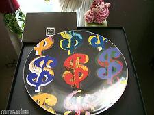Rosenthal studio-line Andy Warhol Wandteller Dollar Signs 24 cm **NEU & **OVP**