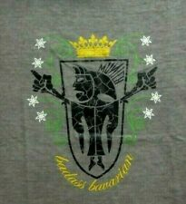 T-Shirt München BADASS BAVARIAN Bayern Bavaria Größe L kultiges Jersey Shirt