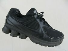 NIKE Shox NZ Black Sz 7.5 Men Running Shoes