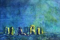 Scott Naismith Stonehenge Equinox Art Print PPR51273 size 60cm x 80cm
