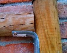 Angolare per pali tondi Ø 60/80 connettore giunzione per palizzate in legno