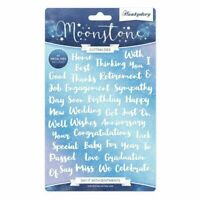 Hunkydory Moonstone - SAY IT WITH SENTIMENTS - 41 Sentiment Dies Set - MSTONE258