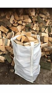 Barrow Bag Firewood Logs Best Quality Wood - For Log Burner Or Open Fire