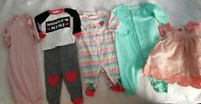 Baby girl infant carters bodysuit outfit shirts bottoms outfits pants 3m lot dre