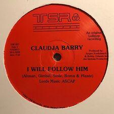 "Claudja Barry ""I Will Follow Him b/w Work Me Over"" 1982 TSR Records Disco VG++"