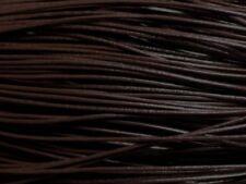 5m - Cordon Cuir Véritable Noir-Café 1mm   4558550023568