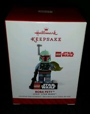 2014 Hallmark Boba Fett Lego Star Wars Bounty Hunter Keepsake Ornament New