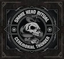 "SNAKE HEAD RITUAL: ""CEREMONIAL THUNDER"" CD (AWESOME RETRO HARD GUITAR ROCKER)"
