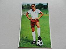 Hans Rigotti (fc bayern munich 65-68) signed photo 10x15