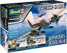 Revell 00452 Technik - Junkers JU88 A-4, Maßstab 1:32, Level 5