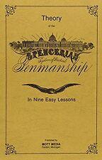 Theory Book & Five Copybooks (Spencerian Penmanship) NEW BOOK
