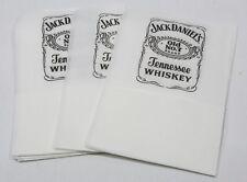JACK DANIEL'S Whiskey 12 serviettes papier imprimé