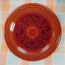 Vintage Fiesta / Sheffield Amberstone Brown 10 1/4 Inch Dinner Plate