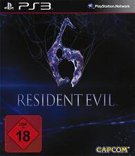 Sony PS3 Playstation 3 Spiel ***** Resident Evil 6 **********************NEU*NEW