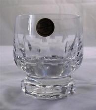 Villeroy & and Boch ARABELLE whisky tumbler glass 24% lead crystal NEW handmade