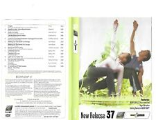 Les Mills Body Flow 37 Complete DVD, CD, Case and Notes