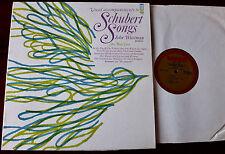 JOHN WUSTMAN ACCOMPANIMENTS TO SCHUBERT HIGH VOICE PIANO LP +SHEET MUSIC MMO