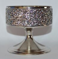 BATH & BODY WORKS GLITTERING PEDESTAL LARGE 3 WICK CANDLE HOLDER SLEEVE 14.5 OZ